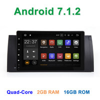 Android 7 1 2 Car DVD Radio For BMW 5 Series E39 E53 M5 X5 With