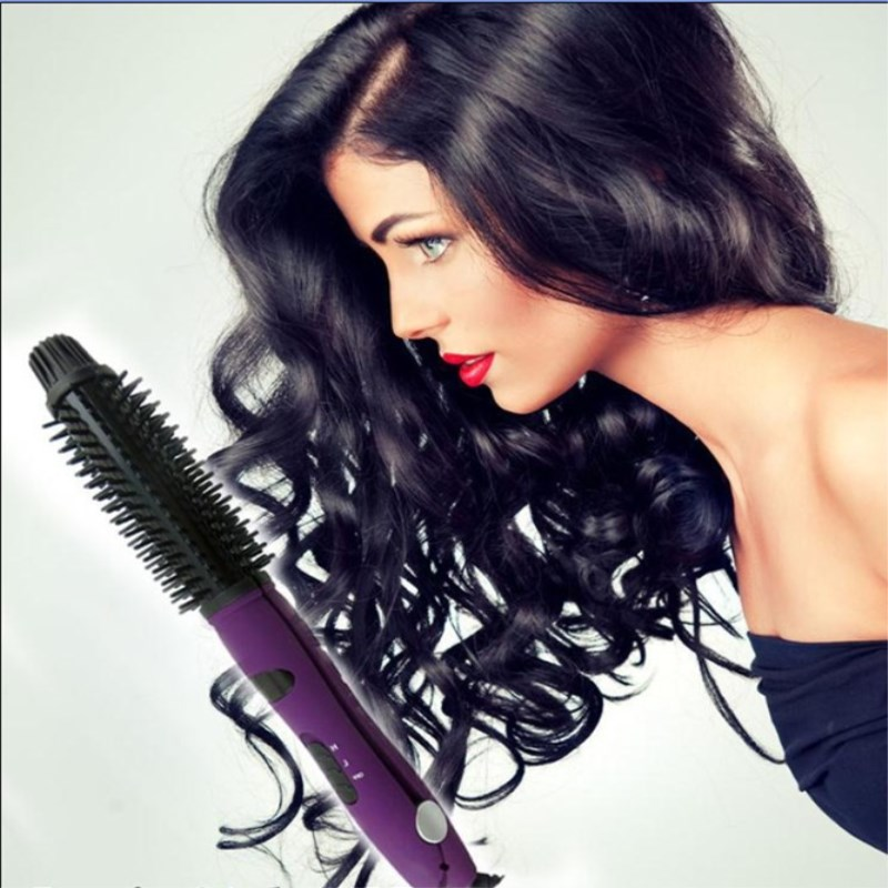 2-in-1 Hair Curler Ceramic Hair Straightener Professional Hair Straightening Iron Hot Curler Curling Irons New Hair Styling Tool dilan cj 208 37 in 1 plastic sponge buckle hair curler tool blue purple pink