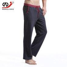 Brand Men runing pants Sleep Lounge Loose Pajamas pants Cotton mens Training bottoms sweatpants  Sports long pants