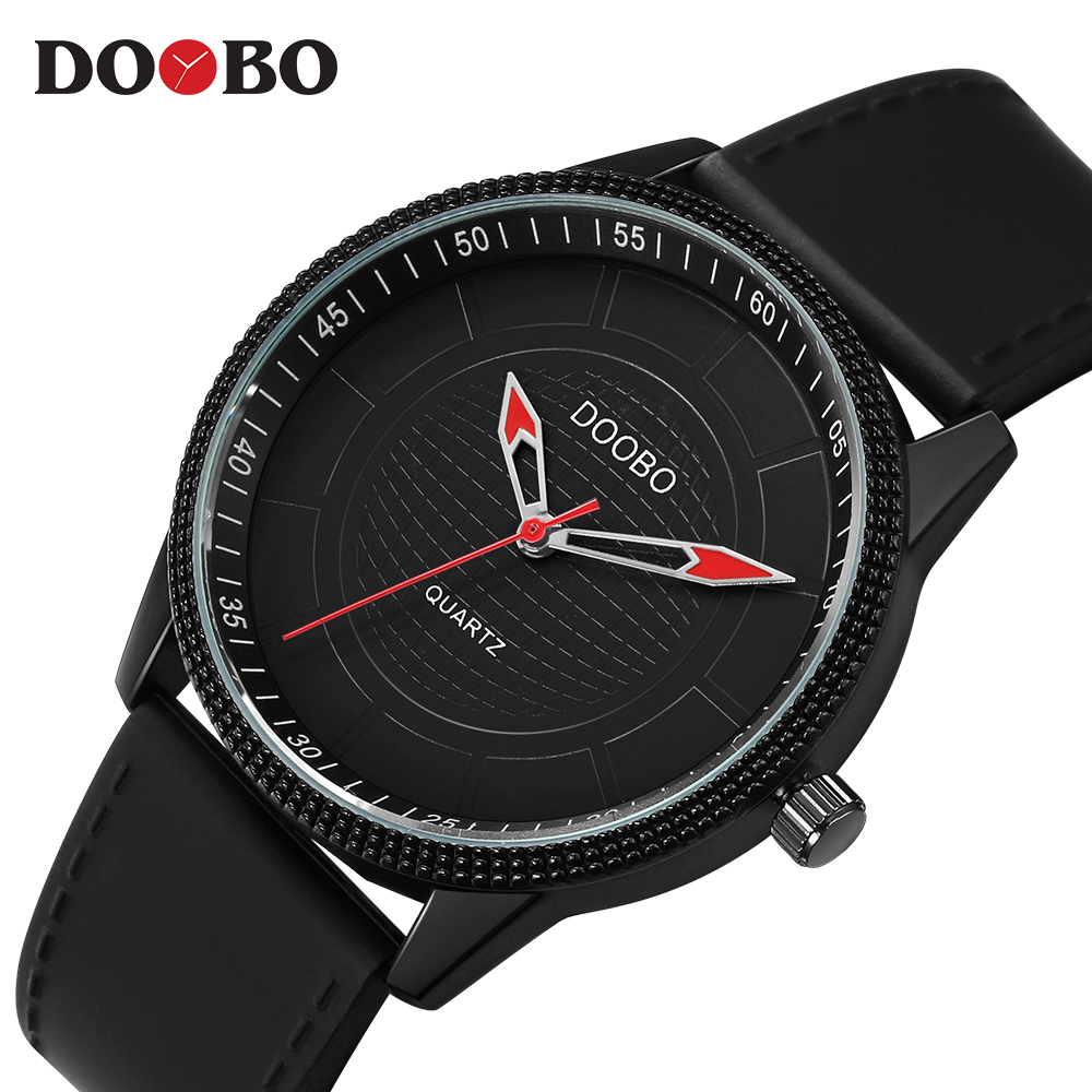 Quartz Watch Men DOOBO Wrist Mens Watches Top Brand Luxury Famous Wristwatch Male Clock Simple Quartz-watch Relogio Masculino baosaili fashion wrist watch men watches brand luxury famous male clock women unisex simple classic quartz leather watch bs996