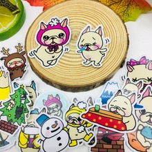 40 Pcs/lot Cartoon Cute hat dog Scrapbooking Stickers Car Case Waterproof Laptop Bicycle kids toys Backpack waterproof Sticker