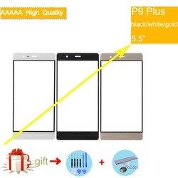Для Huawei Ascend P9 Plus P9Plus Передняя стеклянная панель сенсорный экран стеклянная линза Панель внешнее ЖК-стекло сенсорный экран