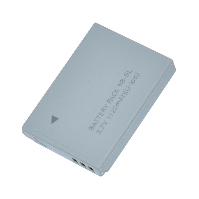 Original Camera Battery  NB-5L  LI-ion for canon NB5L SD950 SD900 SD990 890 870 free shipping