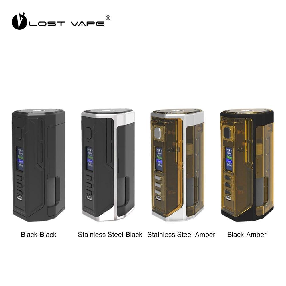 Электронная сигарета потерянный Vape Дрон BF DNA250C коробка мод работает на Двойной 18650 ДНК 250C доска Vape испаритель обновляемый LostVape
