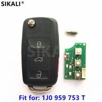 Car Remote Key For 1J0959753T 5FA008410 30 Beetle Golf Passat Jetta For VW VolksWagen 1998 1999