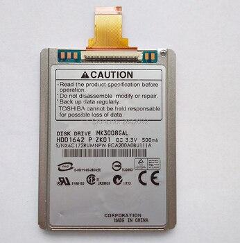 Новый MK3008GAL 1,8-дюймовый жесткий диск и кабель для жесткого диска интерфейс ce ZIF 30 Гб IPOD классический видео ZUNE d420 430 2510p