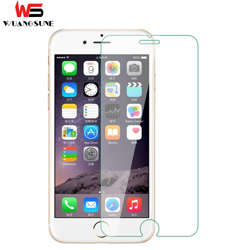 NEW Ultra Thin HD Transparent For Apple iphone6 6S 7 Plus X Screen Protector Guard for iPhone 6S 4.7 for iphone 6 tempered glass