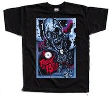 Friday The 13 V3 Movie Black T Shirt All Sizes S 5Xl