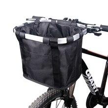 Корзина для велосипеда, корзина для руля велосипеда, держатель для велосипеда, сумка для езды на велосипеде, велосипедная Передняя сумка для багажа, нагрузка 3,0 кг