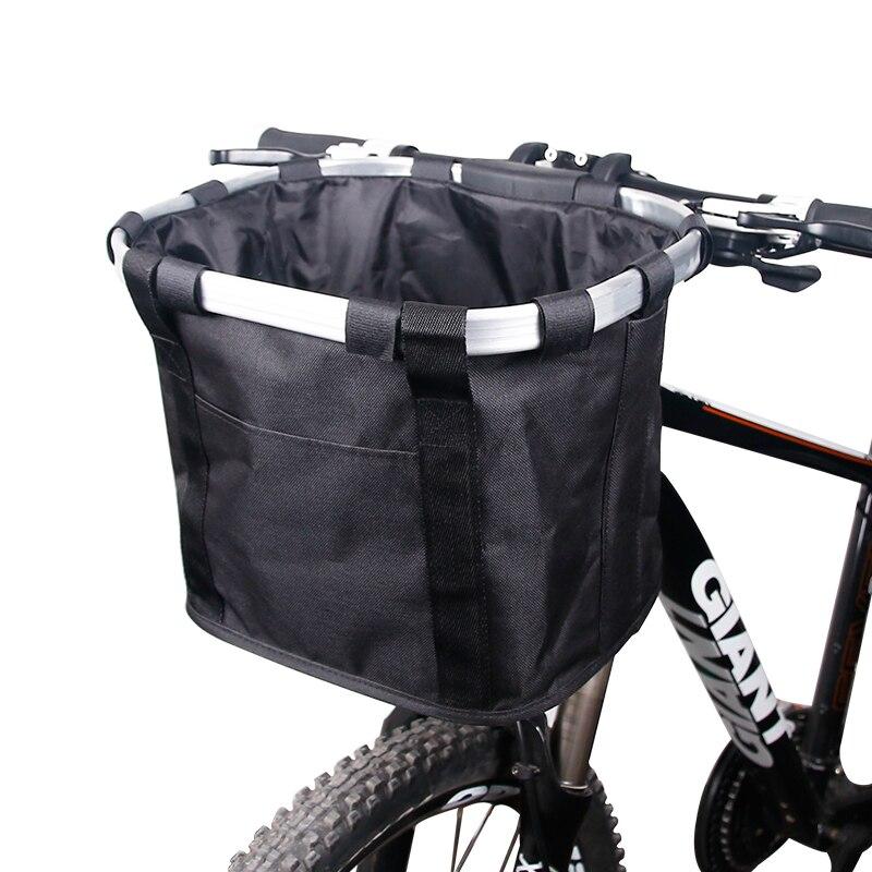 Vélo panier guidon sacoche vélo porte-bagages vélo équitation poche Cycle vélo avant sac à bagages 3.0KG charge