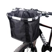 Vélo panier guidon sacoche vélo porte bagages vélo équitation poche Cycle vélo avant sac à bagages 3.0KG charge