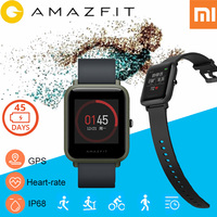 Xiaomi Huami Amazfit Bip Smart Watch Amazfit Pace Heart Rate Bluetooth Smartwatch Xiaomi Amazfit Watch Men