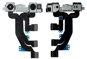 Image 3 - Iphone XS MAX XR XS 용 1pcs 전면 카메라 소형 얼굴 카메라 후면 카메라 후면 카메라 플렉스 케이블