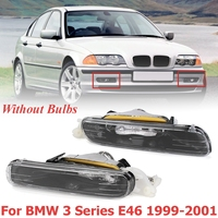 for BMW 3 Series E46 1999 2000 2001 1 Pair Front Bumper Halogen Fog Lights Lamps Without Bulb Car Styling Replacment