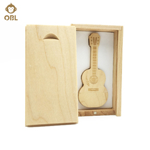 Hardcover Guitar USB Flash Drive 128GB 64GB 32GB 16GB 8GB 4GB USB 2.0 Pen Drive Memory Stick USB Stick Flash Flash Memory PenDri