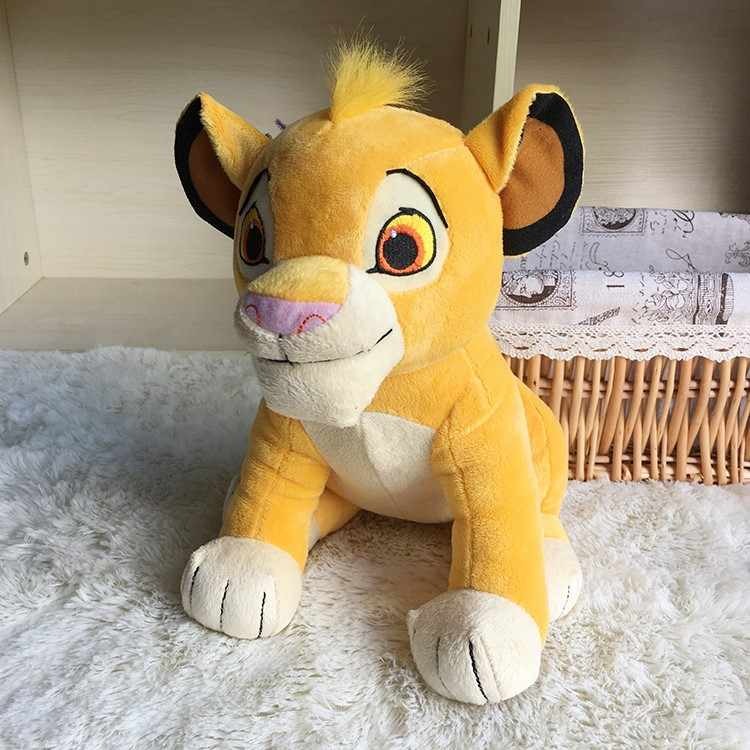 2019 nuevo 30cm El Rey León Simba muñeca suave para niños 11,8 ''joven Simba animales de peluche juguetes de peluche regalos para niños envío gratis