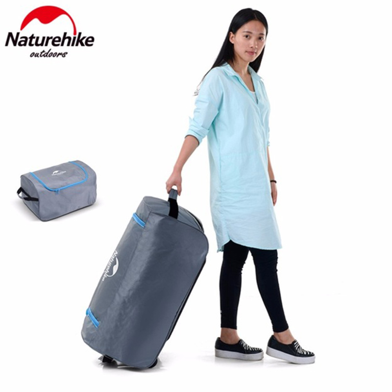 NatureHike Outdoor Travel Camping Pack Large Capacity Camping Luggage Storage Organizer Travel Kits Tent Holder цена 2017