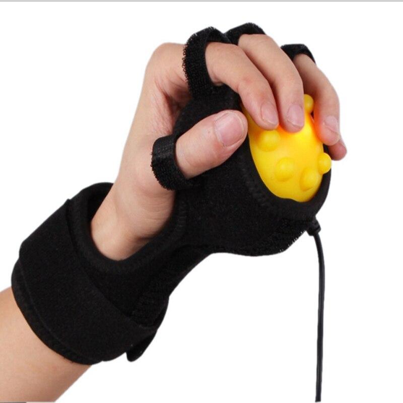 Compresse chaude infrarouge masseur de main Massage de la main et des doigts physiothérapie rééducation spasme Dystonia Hemiplegia course