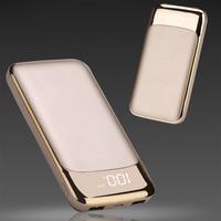 2018 Hot Power Bank 20000mAh External Battery Portable Mobile Phone Charger Universal Dual USB Powerbank For
