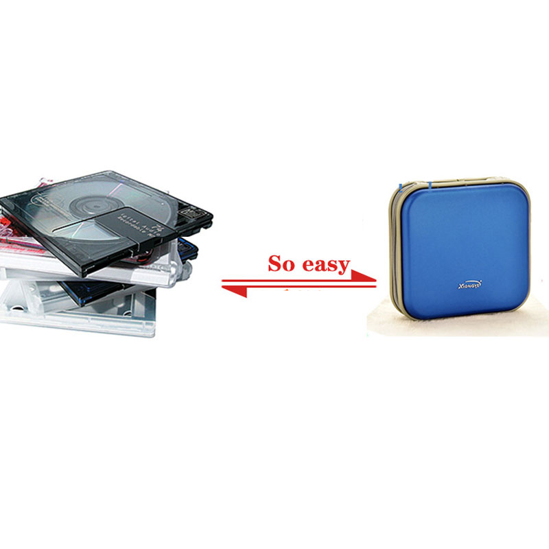 RACAHOO-CD-Case-High-Quality-Waterproof-Compression-CD-Package-40-Disc-Capacity-For-Home-Office-And-Car-Storage-CD-Bag1