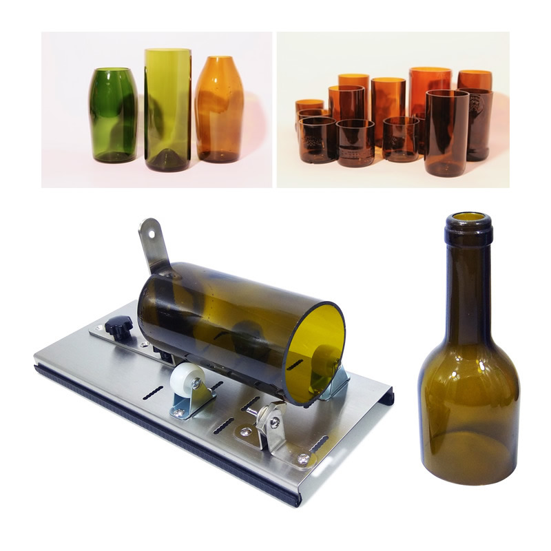 Creative Wine Beer Glass Bottle Cutter Professional Adjustable DIY Art Craft Making Glass Cutting Tool Gift Dropshipping