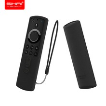 For Amazon Fire TV Stick 4K Ultra HD Cube (3rd Gen) Remote Control Cover SIKAI Protective Silicone Anti Slip Lightweight