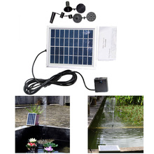 Solar Powered Water Pump Panel Kit Pool Fountain Waterscape Floating Fountain Garden Pond Watering Submersible Pumps
