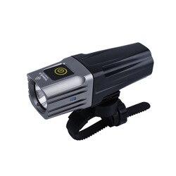 Toweld, BR1600, Cree XHP35, LED de 1600 lúmenes, IPX6, luz de bicicleta recargable con USB impermeable con batería