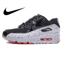 pretty nice 76f1b 14cc0 Nike AIR MAX 90 hommes chaussures de course confortables Sport baskets de  plein AIR chaussures de