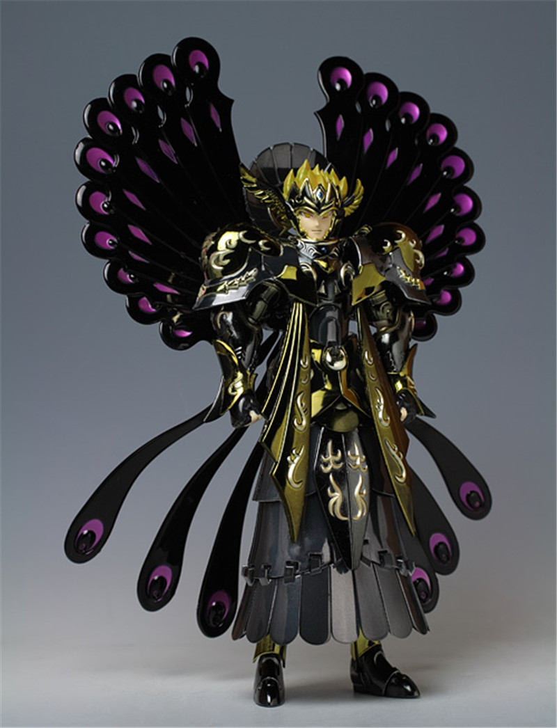 Anime Saint Seiya Action Figure Specters Myth Cloth Thanatos and Hypnos Sleep God Collectible Model toy bandai japan version model toys saint seiya cloth myth ex specters shura surplice action figurine toy for children boys gift