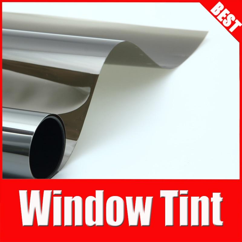 TSAUTOP 1.52*30 м высокое качество самое лучшее окно оттенок фильм окно фольга Солнечная защита для автомобиля заднем лобовом стекле пленка ПЭТ KSB006