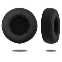 Replacement Protein Leather & Memory Foam Ear Pads For Beats PRO And For PRO Detox Headphones Earpad Black And White Red sh# 1 pair made of protein leather and memory foam ear pads for beats solo 3 0 headphones earpad replacement eh