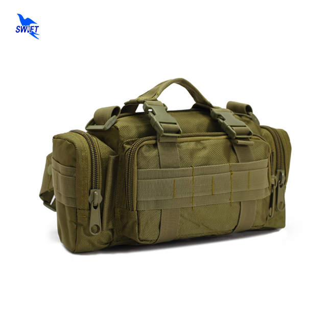 Multi Function 3P Tactical Waist Pack Hiking Waist Pouch Chest Shoulder Bag Outdoor Travel Waterproof Military Camera Backpack
