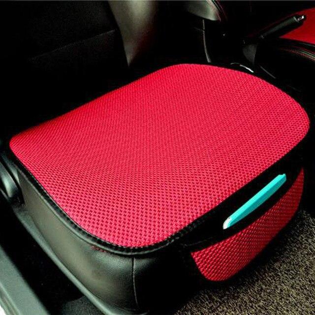 Almofada do assento de carro capa de assento esteira para acessórios automóveis cadeira escritório almofada quatro estações geral universal antiderrapante