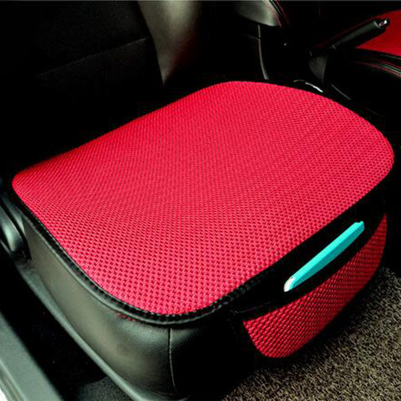 Bilsete Pute Sitte Deksel Pad Mat for Auto Tilbehør Office Chair Pute Fire Seasons Generelt Universal Antiskid