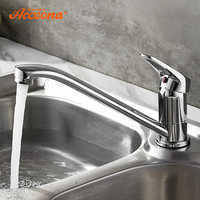 Accoona Kitchen Faucet Classic Pull Out Modern Polished Chrome plated Single Handle Swivel Spout Vessel Sink Mixer Tap
