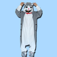 Kigurumi Adult Unisex Piżama Cosplay Costume Onesie Piżamy Piżamy Homewear Party Odzież Dla Kobiet Man Role playing cat