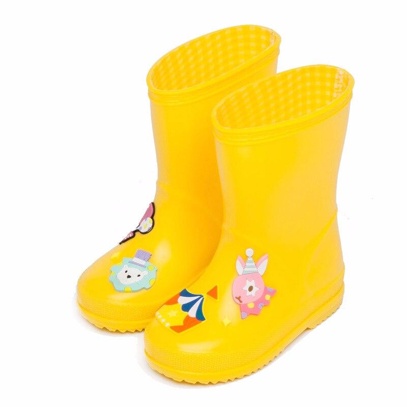 Baby jongens en meisjes regenlaarzen Kinderen cartoon grappige - Kinderschoenen - Foto 2