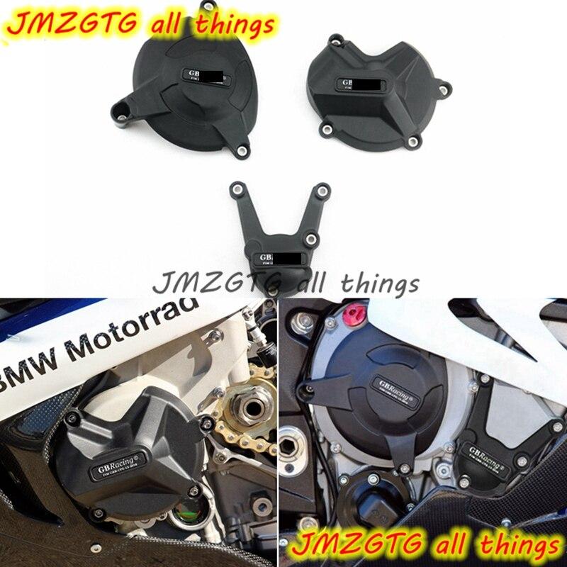 Motos Moteur couverture Protection cas pour cas GO Racing Pour BMW S1000RR S1000R HP4 2009-2016 Moteur Couvre Protecteurs