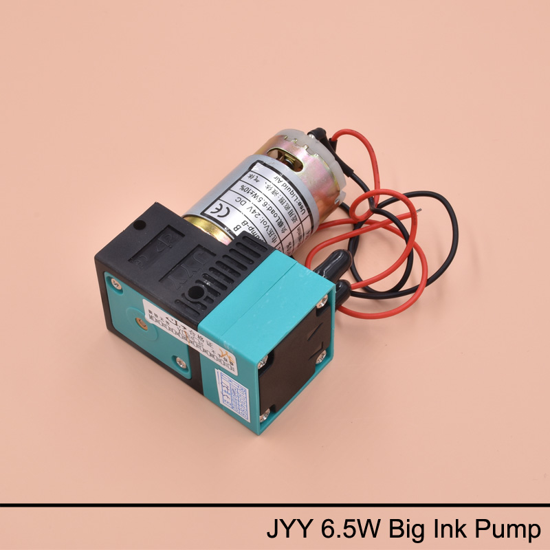 2PCS JYY 6.5W 300-400ml stor blekkpumpe for Infiniti Phaeton SID Utfordrer Gongzheng Icontek Solvent Printer