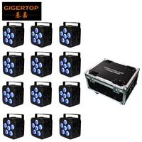 DMX WIFI Par Led 6x18w RGBWA UV 6in1 IP65 Battery Powered Stage Par Light Powercon Black LED Par Lumiere DJ Lamp air cannon air shot air fill valve -