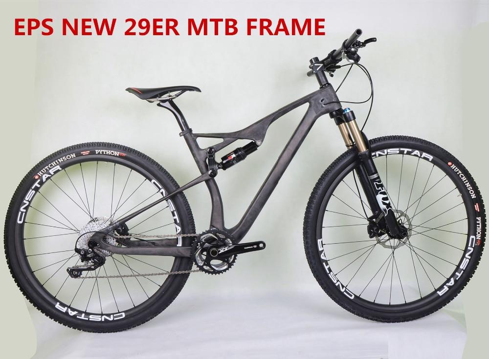 Best Full Suspension Mountain Bike >> Us 649 0 2018 New Eps Best Quality Full Carbon 29er Full Suspension Mountain Bike Ud Matt Ultralight 29 Inch Mtb Frame Bb92 Thru Axle In Bicycle