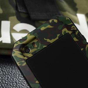 Image 4 - Corps complet Housse De Protection pour iPhone 7 Plus Étui 360 Dur Antichoc En Aluminium En Métal étui pour iPhone 8 Plus Gorilla Glas