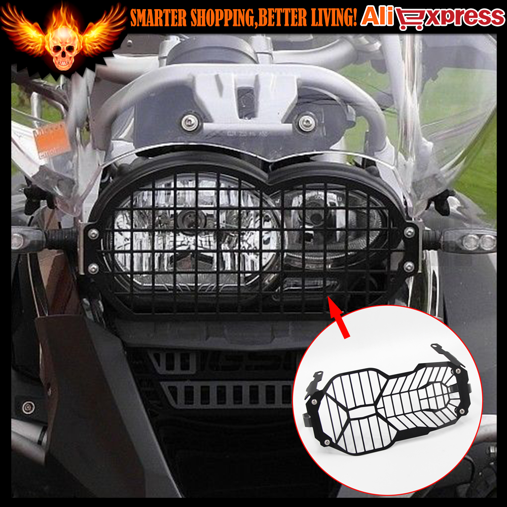 For BMW R1200GS/ADV 2013 2014 2015 2016 Motorcycle Headlight Headlamp cover guard protector grill 2017 hot motorcycle accessories grille radiator cover protection cnc aluminum for bmw r1200gs r1200 gs adv 2013 2014 2015 2016