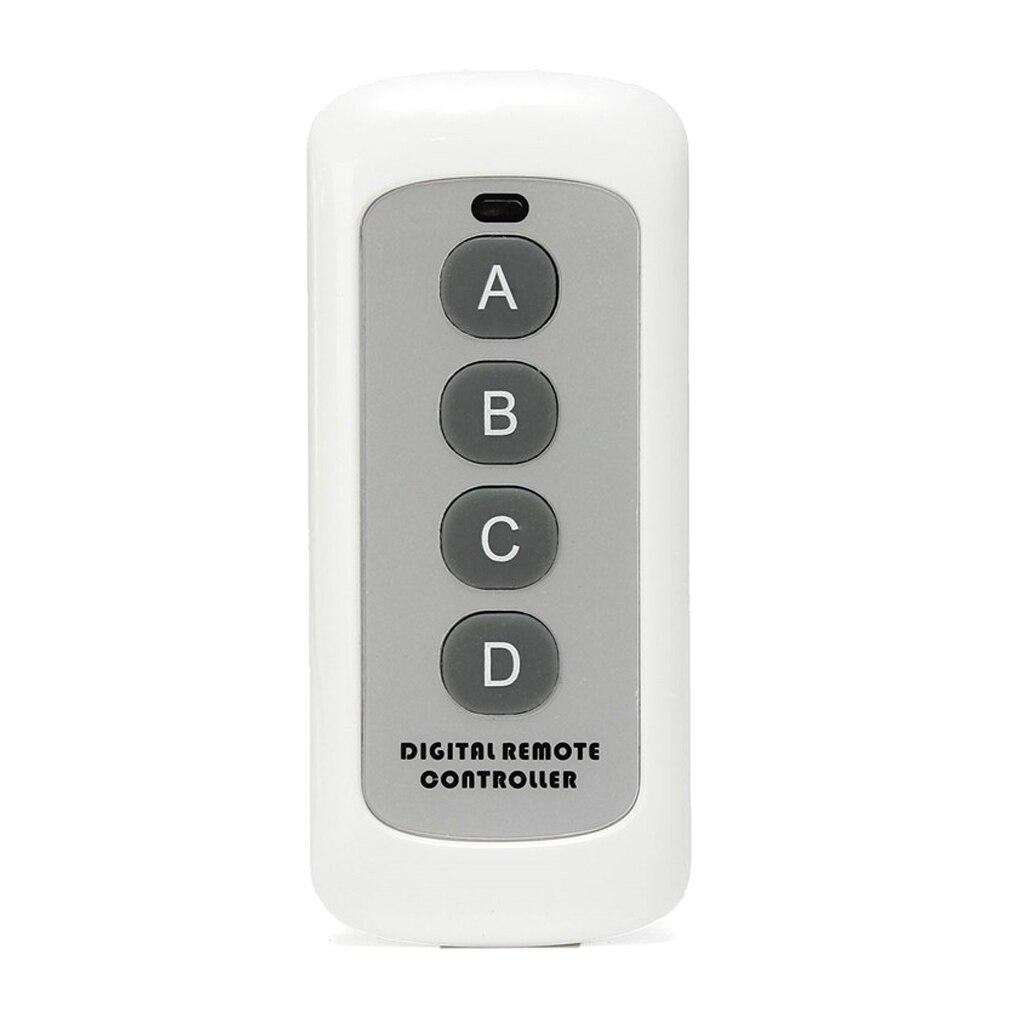 Simple télécommande universelle pour porte de garage ouvre-Garage 433 MHz 4 canaux