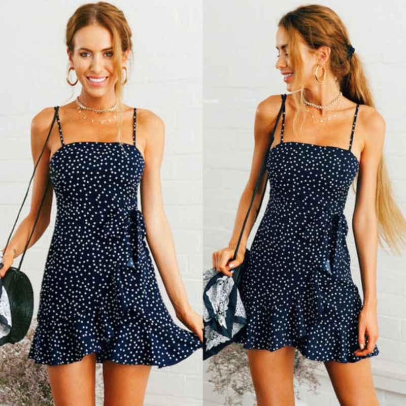 casual sleeveless short dress