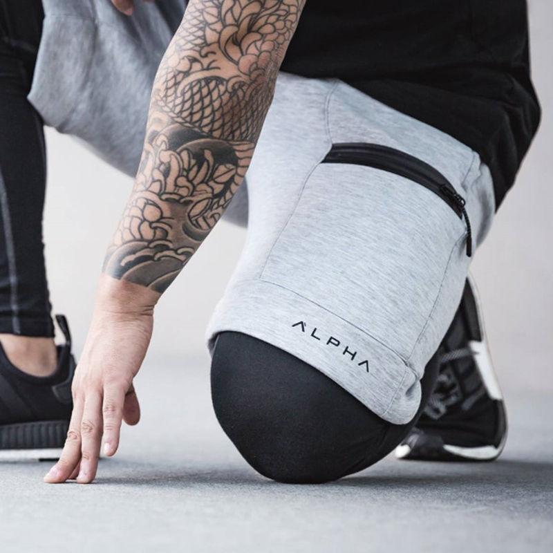 Pantaloni da Lavoro Uomo Mens Casual Outdoor Sports Running Trousers Drawstring Long Pants Pantaloni Uomo Sportivo Fitness