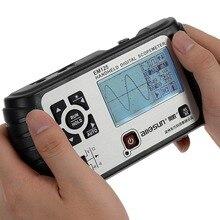 Tous-soleil 25 MHz 100MSa/s Numérique 2in1 De Poche Portable Oscilloscope + Multimètre Unique Forme D'onde de la Manche USB LCD rétro-éclairage EM125