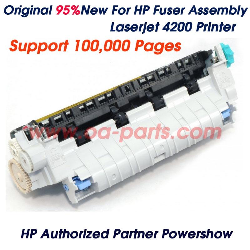 ФОТО Original 95% New For HP4200 HP 4200 Fuser Assembly RM1-0014-000CN RM1-0014 RM1-0013 RM1-0013-000CN printer parts