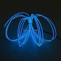 AC 100V 220V Drives 3 2mm 10 Colors Optional 20Meters Flexible EL Wire Rope LED Neon